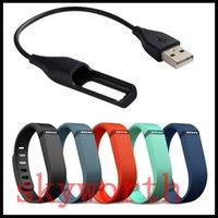 браслет usb браслеты браслет оптовых-USB зарядное устройство зарядки зарядный кабель шнур для Fitbit Flex беспроводной браслет Браслет DHL бесплатная доставка
