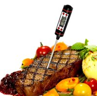 Wholesale Digital Thermometer For Meat - New Arrival Cooking Thermometer Instant Read Digital Thermometer for All Food, BBQ and Candy Meat Thermometer DHL FREE
