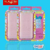 papel duro de dibujos animados al por mayor-100 unids precio de fábrica al por mayor Niza papel duro de la historieta con el empaquetado plástico transparente para la caja del teléfono para HTC Moto iPhone