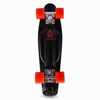 Wholesale Fish Cruiser - Wholesale-22inch Fish Board Color Mini Cruiser Skateboard 2016 Fashion COOL Peny Board Four-wheel Street Mini Longboard For Outdoor