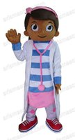 Wholesale Doctor Mascot Costumes - AM0115 Doctor Mcstuffins mascot costume, party costumes, EVA foam mascot fur mascot advertising