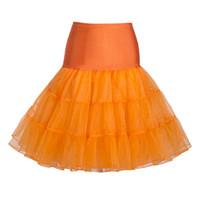 Wholesale Tutu Rock - S5Q Womens Sweet Vintage Underskirt Rock Dance Petticoat Ballet Tutu Short Skirt AAAFXH