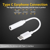 Wholesale Jack Male Female Connectors - Audio Adapter Type C 3.5mm AUX Earphone Headphone Jack Adapter Connector Cable For Letv Le2 2PRO Max2 Female To Male Headset Connector Cords
