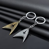 Hot Movie Star Trek Gioielli Starfleet Ciondolo in metallo Portachiavi a catena portachiavi per appassionati Portachiavi uomo Accessori regalo Lost In Space