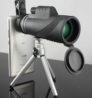 teleskopierendes monokular für die jagd großhandel-40 * 60 HD Zoom Monocularteleskop Einstellbare Sternenteleskop für Telefon für Outdoor Jagd Camping Reise GL006