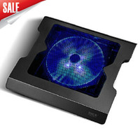 Wholesale Using Fan Laptop - Free shipping 14-inch 15-inch Notebook Cooler 20CM Large Mute Laptop fan