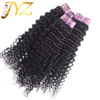 Wholesale Human Hair Curls Sales - Human Hair Extension 7 Days Returns Guarantee 3pcs lot Deep Curl One Donor Unprocessed Brazilian Virgin Hair Free Shipping Hot Sale Wavy