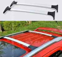 High Quality Suv Car 2 Pcs Set Roof Rack Luge Racks Cross Bar Accessories For 2017 Ford Ecosport From Dropshipping Suppliers