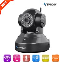 Wholesale Ip Camera Wireless Internet Card - VStarcam HD 720P Wifi IP Camera Use eye4 App CCTV Wifi Camera Support 128GB Card H.264 Wireless Night Vision P2P Onvif Camera Hot +B