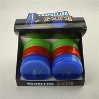Wholesale Travel Plastic Box - Reliable quality plastic travel pipe 3 colors available Pocket collapsible bong acrylic bong flexible Water Pipe Rocket tobacco Bong