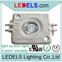 módulo al aire libre al por mayor-1.6W 12v 120lm Osram / Nichia módulo de retroiluminación de alta potencia led para señal de caja de luz de publicidad exterior