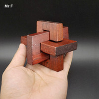 Wholesale Child Slant - Slanting Three Dimensional Wooden Toy Kong Ming Lock Adult Children Interactive Game Kids Gifts Teaching Aids Educational Toy