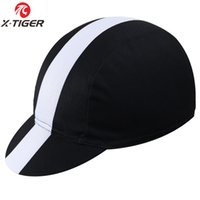 Wholesale Hat Pirates - X -Tiger Classic 11Colors Cycling Cap Bike Hat Ciclismo Bicicleta Pirate Headband Cycling Cap Bicycle Helmet Wear Cycling Hat