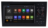 Wholesale Audi A4 Stereo - Android 5.1 Car DVD Player for Audi A4 2003 2004 2005 2006 2007 2008 with GPS Navigation Radio BT USB AUX Stereo