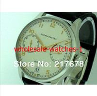 Wholesale Automatic Portuguese Watches - * Top quality Luxury Sapphire Portuguese 7 Day 7Day 500114 White Dial automatic Mens Men's Watch Watches