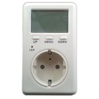 Wholesale Eu Monitor Electricity - Wholesale-170-240V AC EU Saving Energy Wanf Mini WATT Electricity Energy Usage Ammeter Meter Monitor AC Voltag Power Balance Energy Meter