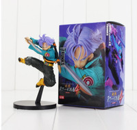 ingrosso nuove figure di sfera di drago z-Nuovo arrivo 17 centimetri DXF Anime Dragon Ball Z Trunks PVC Action Figure Doll Toy