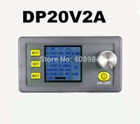10pcs DP20V2A Constant Step-down courant Alimentation DC programmable surveiller convertisseur de tension Voltmètre LCD écran Test compteur Module volts