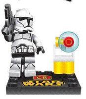 Wholesale Toy Bicks - LELE 75032-039 Star Wars Minifigures White BlACK clone trooper solider action figures building block sets toys Educational Bicks