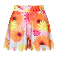 Wholesale Girls Pantskirts - New Children Girls Knee Length Pantskirts Big Kids Casual Short Pants Fashion Girls Skirt Pants 5 P L