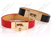 Wholesale candy charms for bracelets - Hotr new LOVELY Fashion star lock style women's bracelet and candy multicolour Women strap bracelet Super style for gift