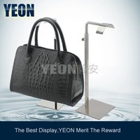 Wholesale YEON Stainless Steel Single Rack Bag Display Rack Women s Clutch Bag Hanger Bulk Order Available
