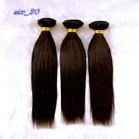 Wholesale Half Head Extensions - Wigs long straight hair Qi Liu half-head long hair fluffy realistic fashion