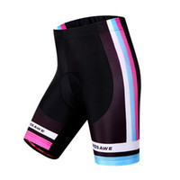 Wholesale 2016 Ladies Cycling Shorts Riding Bicycle Biking Shorts Quick Dry Padded Coolmax Gel Mountain Bike Cycling Shorts Outdoor Fitness Clothing