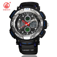 982f7ebe06d OHSEN Fashion Watch Men G Style Waterproof LED Sports Military Watches  Shock Men s Analog Quartz Digital Watch relogio masculino