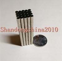 freie neodym-magnete großhandel-Großverkauf - Auf Lager 500pcs starke runde NdFeB Magneten Dia 4x2mm N35 Rare Earth Neodym Permanent Craft / DIY Magnet Freies Verschiffen