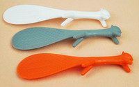Wholesale Rice Meal - Lovely Kitchen Supplie Squirrel Shaped Ladle Non Stick Rice Paddle Meal Spoon