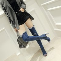 ca31aa94602 Jeans High Heel Boots NZ | Buy New Jeans High Heel Boots Online from ...