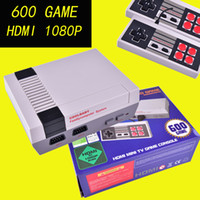HD HDMI Out Retro Classic Game TV Video consola de juegos portátil Sistema de entretenimiento Built-in 600 Juegos clásicos para NES mini Game OTH667