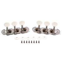 Wholesale Tuning Machines For Classical Guitar - Guitar 1L 1R Tuning Pegs Keys Tuners Machine Heads for 6 String Ukulele Classical Guitar Replacement parts& Accessories