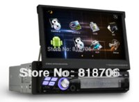 Wholesale Dvb Car Android Wifi - 1din car dvd gps 7inch android 4.0 car radio player with WiFi 3G IPOD DVB-T MPEG2 1GHz CPU 1GB RAM Free shipping