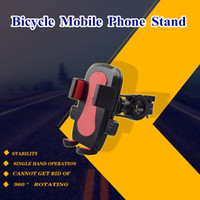 Bike Bicycle Motorcycle Handlebar Car Mount Holder Phone Stand com rotação de 360 ​​graus Universal para iPhone 8