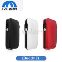 Wholesale Electric Cigarette Wholesale - Authentic iBuddy I1 Heating Kit 1800mah Cigarette Heating Vape Device First Pin Style Cig Electric Starter Kit 100% Original
