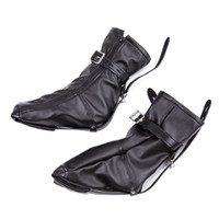 Wholesale Shoe Cuffs - Adult Dog Slave Role Foot Boots Fetish Bondage Feet Cuffs Sex Restraints Kit Sexual Torture Product Couple Erotic Bound Shoes
