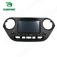 Wholesale Android Car Radio Hyundai - Quad Core 1024*600 Android 5.1 Car Stereo Car DVD GPS Navigation Player for Hyundai I10 2014-2015 Radio 3G Wifi Bluetooth