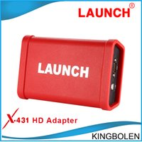 Wholesale Software For Launch X431 - 2016 Newest LAUNCH X431 HD Heavy Duty Truck Diagnostic Adapter Work for X431 V+ X431 Pro3 pad ii Software Free Update Online GDS function