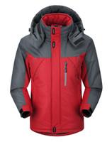 Wholesale Canada Outwear - Wholesale- New 2016 Warm Winter Jacket Men Famous Brand Duck Down Hooded Jacket Men Outwear Fleece Canada Down Jacket Suit Windbreaker 6130