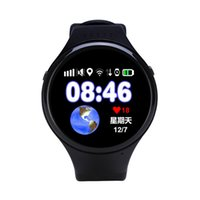 Wholesale Apple Wifi - Round child phone watch elderly smartphone GPS positioning WiFi touch screen student support Andrews and Apple app