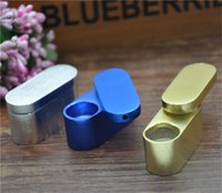 Wholesale Retail Tobacco - Retail Wholesale Newest Flexiable Portable Aluminum Smoking Pipe Metal Smoking Pipe MINI Mushroom Tobacco Cigarette Pipe