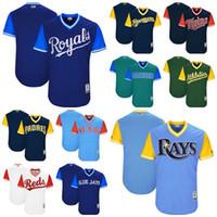 Wholesale Mens Twins - 2017 Little League World Series Brewers Custom Rays Rangers Blue Jays Reds Padres KC Royals Twins Athletics Mariners Women Mens Kids Jerseys