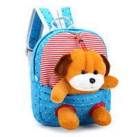 Wholesale children school bags sale resale online - D Fashion Design Children school bags backpack kindergarten girls boys kid backpack cute cartoon toys bear rabbit hot sale