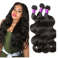 Packs de cheveux péruviens Weave Body Wave Remy Hair Wefts Cheap Wholesale Virgin Brazilian Indian Malaysian Peruvian Human Hair Extensions