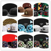 Wholesale Strap Snap Back - Free Shipping Beautiful Flower New Design Snapback Hats 5 Panel Strap back Cayler & Sons Snapbacks Snap back Hip Hop Adjustable Men Caps TY