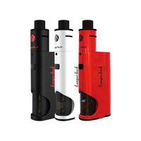 kits reconstruibles al por mayor-Kanger Dripbox 60w Kit completo 60W TC BOX MOD y Rebuildable Dripping Control de flujo de aire de ancho Punta de goteo amplio 8 colores Envío gratuito de DHL