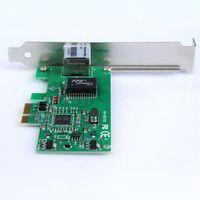 Wholesale Pci E Lan Card - 10 100 1000M Gigabit Ethernet LAN Network Controller Card PCI-E Express 2.5Gb s for Windows XXM