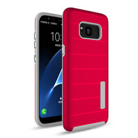 Para Novo iPhone Caso Amor para iPhone 8 Plus iPhone X Armor Rugged PC Defender Protector Clear TPU Mobile Phone Cases